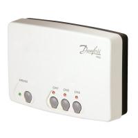 Приемник сигнала беспроводных термостатов RX-3, 3 канала Danfoss RX-3