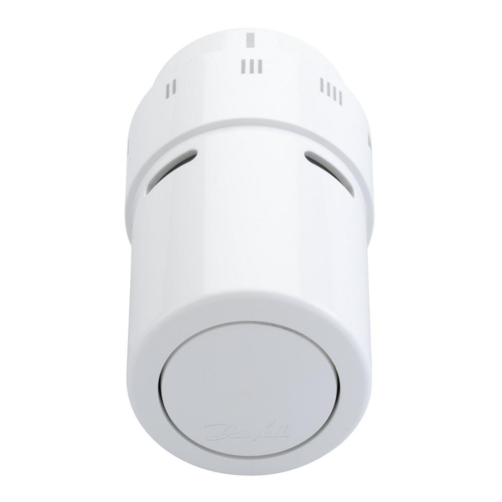 Терморегулятор для полотенцесушителя Danfoss RAX 013G6070, датчик встроенный, цвет белый