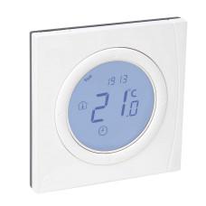 Электронный комнатный термостат Danfoss Basic Plus 088U0625 , программируемый, дисковый, накладной, 230В