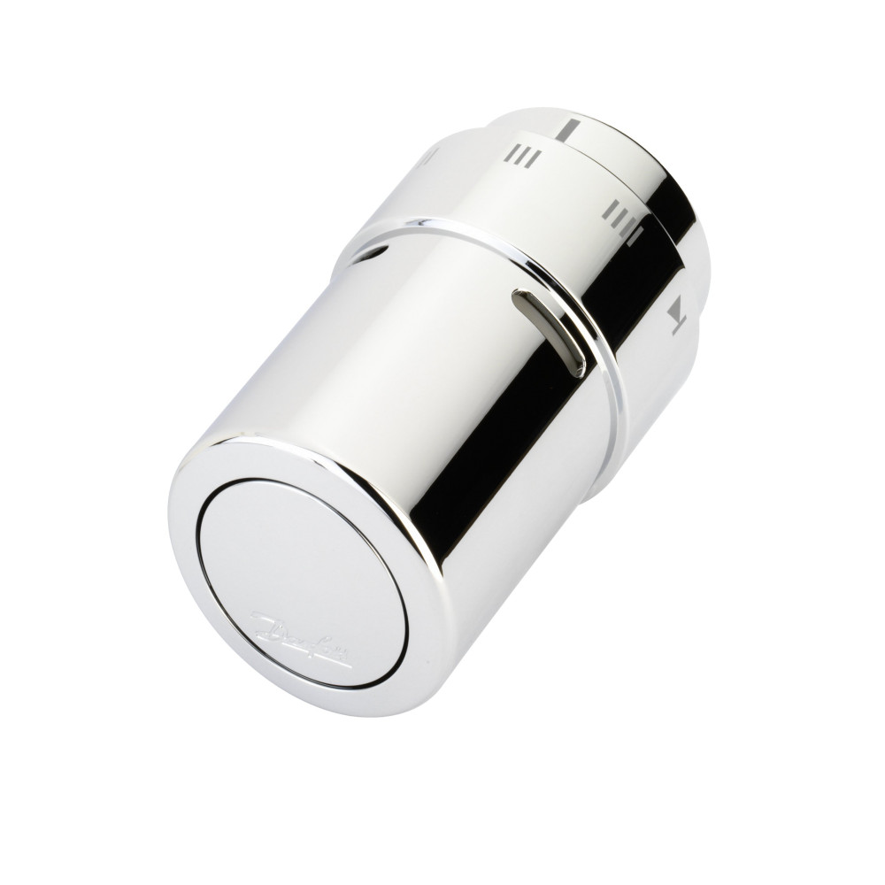 Терморегулятор для полотенцесушителя Danfoss RAX 013G6170, датчик встроенный, хром