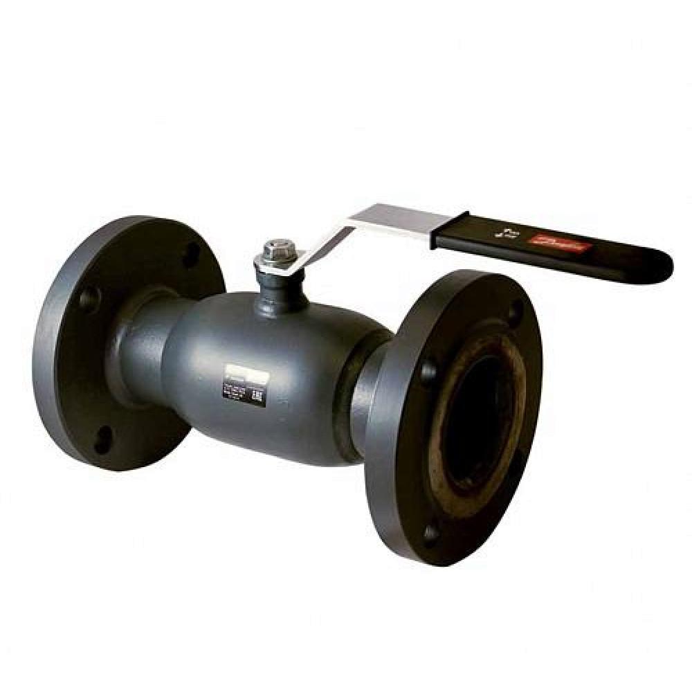 Кран Jip Standard FF Danfoss 065N9626, шаровой ДУ65, Ру16, Kvs=136, под приварку