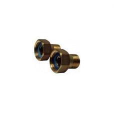Резьбовой фитинг латунный патрубок Danfoss 065F6062, для обратного клапана тип 223