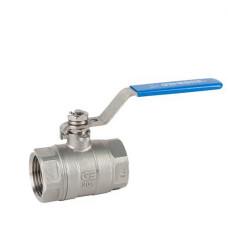 Danfoss Х2777 149B6038 Кран шаровой, полнопроходной, ДУ 65, Ру, бар: 63, Kvs, м3/ч: 584.4 | резьба, нерж. сталь