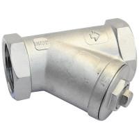 Фильтр сетчатый Y666 Danfoss 149B5276 со спускным краном, ДУ 32, стальной, ячейка 600мкм, Kvs=13.3
