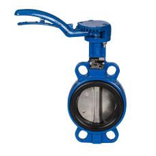 Danfoss VFY-WH 065B7338 Затвор дисковый с ручным управлением, Ду 300, с рукояткой, установка в середине или в конце трубопровода, вес, кг 28.2, стальной диск, 065B7418