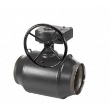 Кран шаровый JiP / G WW Danfoss Premium с редуктором 065N0151G, ДУ 150, Ру 25, Kvs=1900, под приварку