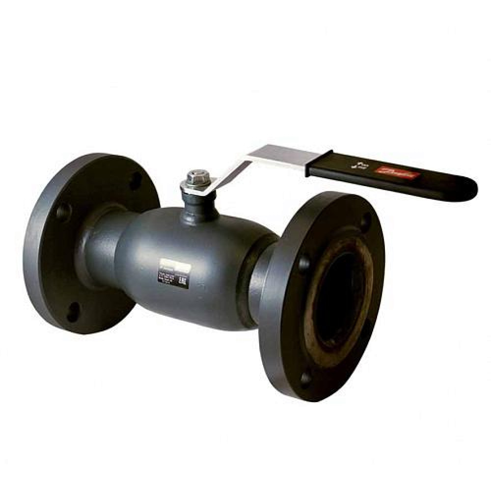 Кран Jip Standard FF Danfoss 065N9630, шаровой ДУ150, Ру16, Kvs=1022, под приварку