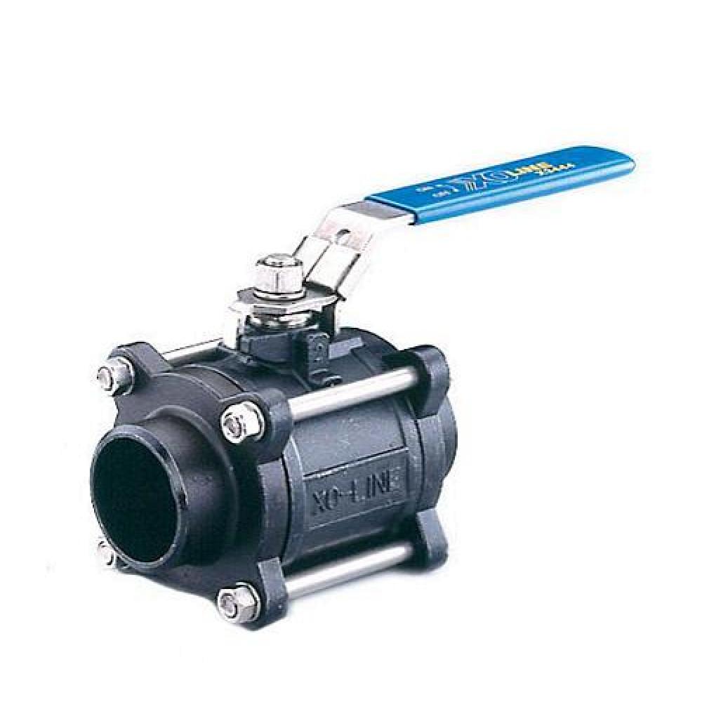 Кран Danfoss Socla 149B6054B стальной полнопроходной, ДУ 15, Ру63, Kvs=18.9, приварка