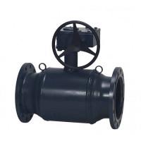 Danfoss JiP Premium FF 065N0351G Кран шаровой, сталь, ДУ 150, Ру, бар: 25, Kvs, м3/ч: 1900, | фланец, редукторный привод