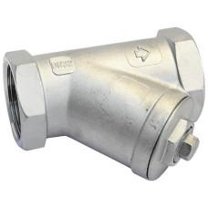 Danfoss Y666 149B5278 Сетчатый фильтр, ДУ 50, нержавеющая сталь, размер ячейки сетки, мкм: 600, Rp 2, Kvs, м3/ч: 30.2
