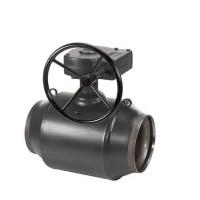Кран шаровый JiP / G WW Danfoss Premium с редуктором 065N0171G, ДУ 350, Ру 25, Kvs=7000, под приварку