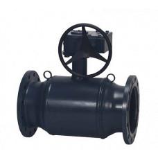 Danfoss JiP Premium FF 065N0281G Кран шаровой, сталь, ДУ 500, Ру, бар: 16, Kvs, м3/ч: 23700, | фланец, редукторный привод
