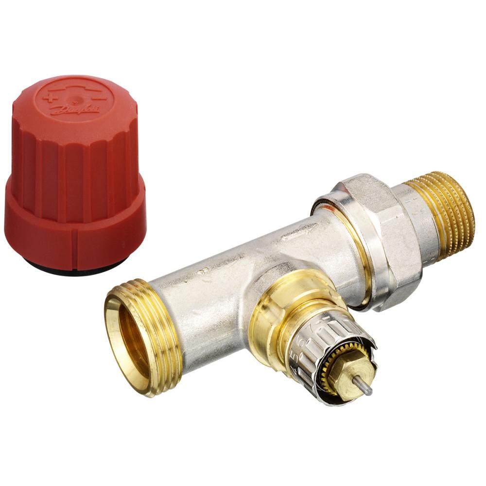 Клапан Danfoss RA-N термостатический 013G4202 прямой ДУ15 3/4 - 1/2