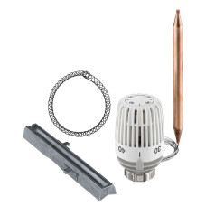 Термостатическая головка Heimeier K, с внешним датчиком, трубка 2м, 10-40 | 6412-09.500