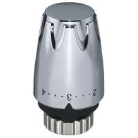 Термостатическая головка Heimeier DX, встроенный датчик, хром | 6700-00.501