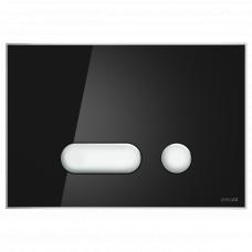 Кнопка смыва Cersanit INTERA P-BU-INT/Blg/Gl черная