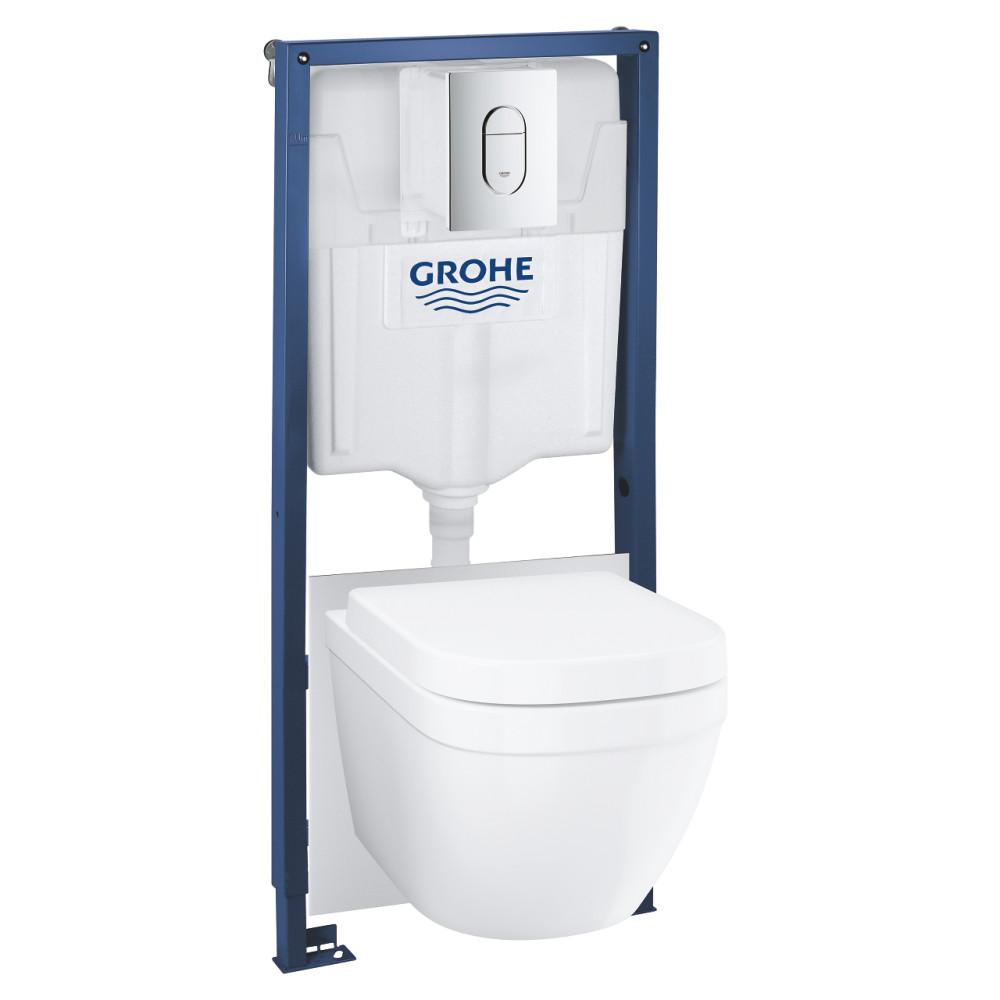 GROHE Solido Compact 39536000 Унитаз с инсталляцией 4 в 1