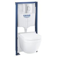 Комплект инсталляция с унитазом Grohe Solido 39536000