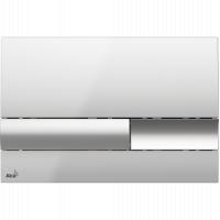 Кнопка смыва Alcaplast M1741, пластик, хром