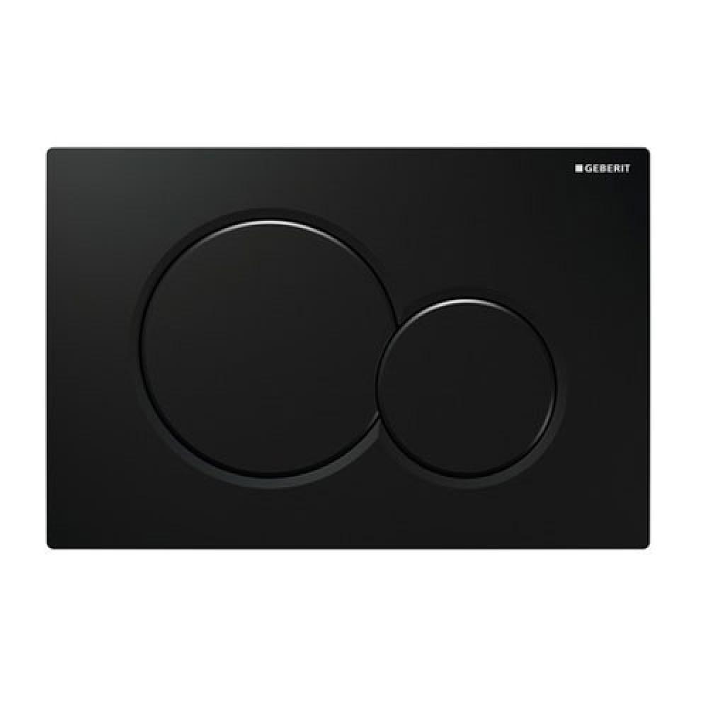 Кнопка смыва Geberit Sigma01 115.770.DW.5 черная