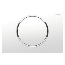 Кнопка смыва Geberit Sigma10 115.758.KJ.5 белая/хром