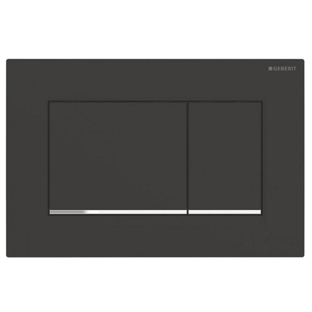 Geberit Sigma30 115.883.14.1 Кнопка смыва черная/хром