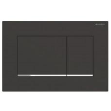 Кнопка смыва Geberit Sigma30 115.883.14.1 черная/хром