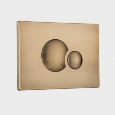 Кнопка смыва Sanit Redonda 16.706.D2..0013br бронза