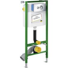 Инсталляция для унитаза Viega Eco 713 386 Комплект с кнопкой 596323 (хром)