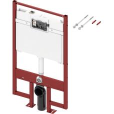 Инсталляция для унитаза TECE 9300040 плоская, с бачком 8см
