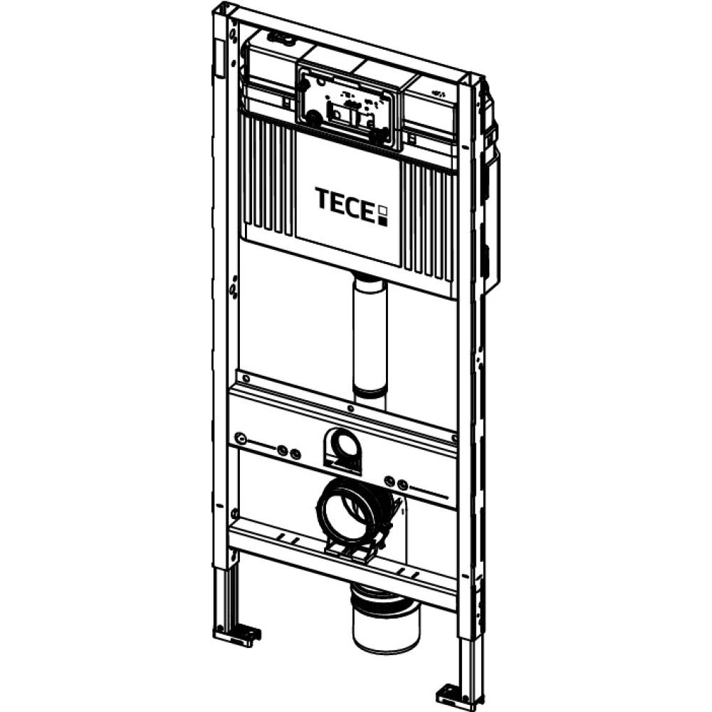 Инсталляция для унитаза TECEprofil 9300000+9240950 с контейнером для гиг. таблеток