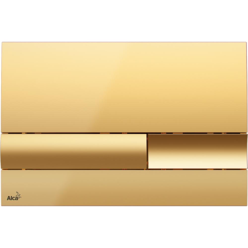 Alcaplast M1745 Кнопка смыва, пластик, золото