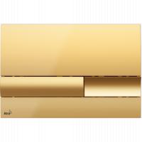 Кнопка смыва Alcaplast M1745, пластик, золото