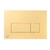 Кнопка смыва Alcaplast M575 золото