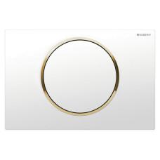 Кнопка смыва Geberit Sigma10 115.758.KK.5 хром/золото