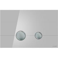 Кнопка смыва Cersanit STERO P-BU-STE/Grg/Gl серая