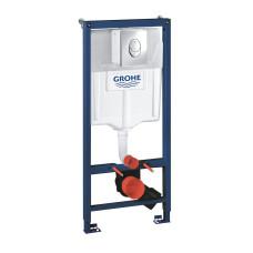 Инсталляция для унитаза Grohe Rapid SL 38721001 3 в 1, комплект с кнопкой, хром
