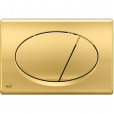 Кнопка смыва Alcaplast M75 золото