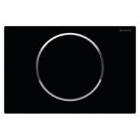 Кнопка смыва Geberit Sigma10 115.758.KM.5 черная/хром