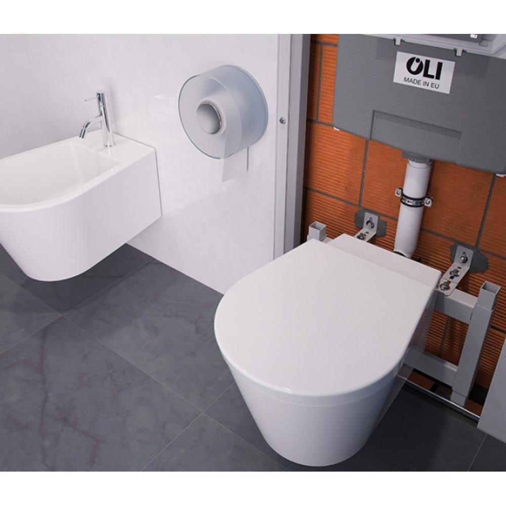 Инсталляция для унитаза OLI WC для бачка QUADRA, OLI 74 714001