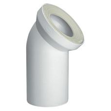 Отвод для унитаза Jimten S-328 021220 колено на 45 градусов