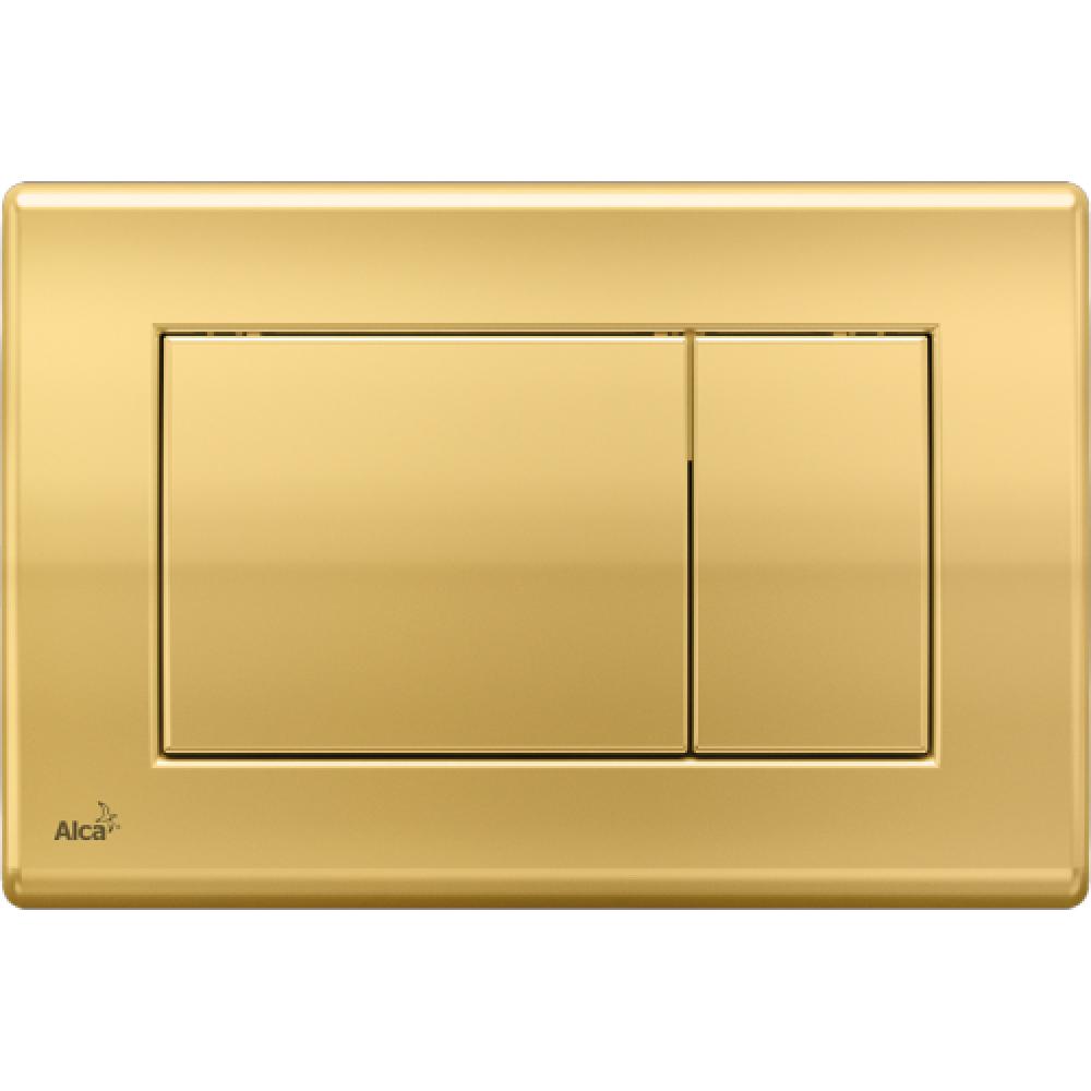 Кнопка смыва Alcaplast M275 золото