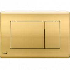 Alcaplast M275 Кнопка смыва, прямоугольная, пластик, золото