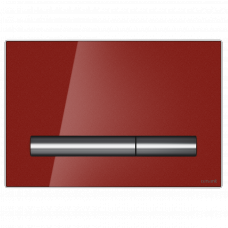 Cersanit Кнопка PILOT, стекло, красная глянцевая