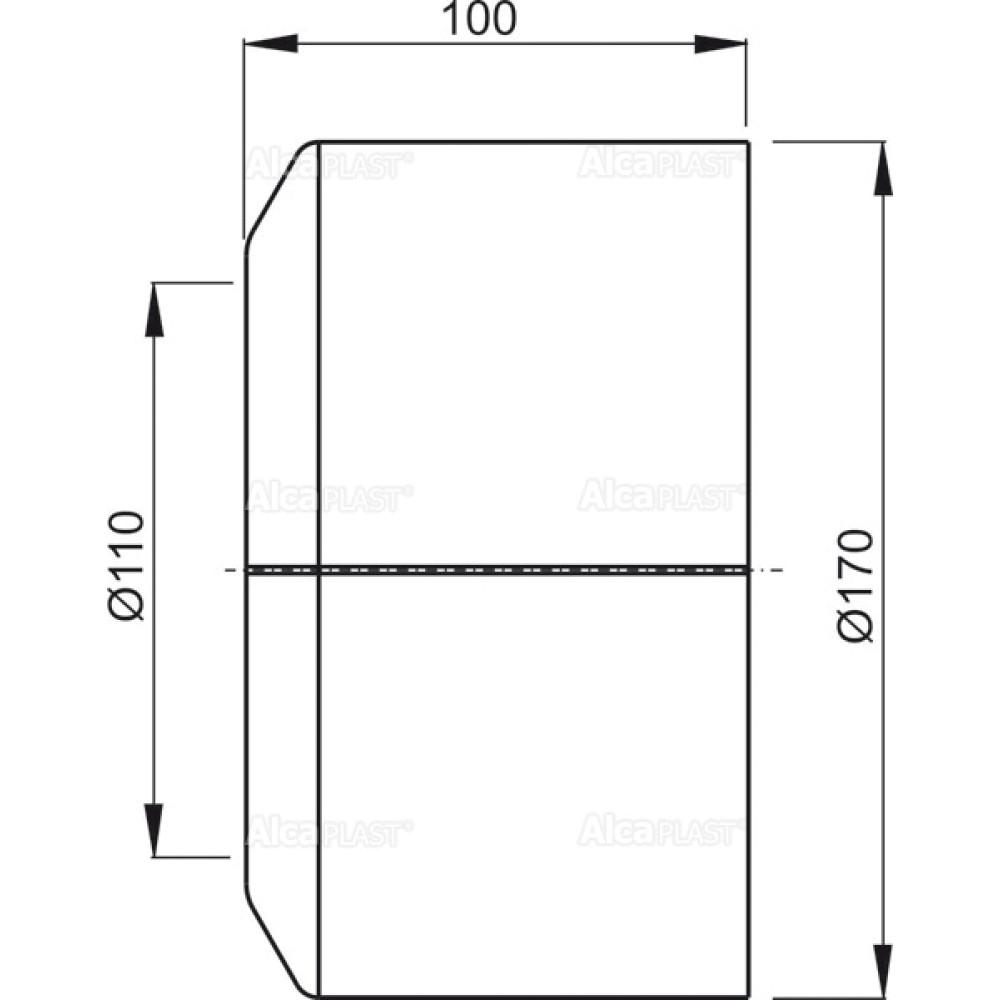 Декоративное обрамление для унитаза Alcaplast A980