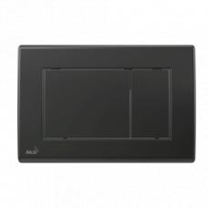 Alcaplast M278, панель смыва, прямоугольные клавиши, черная