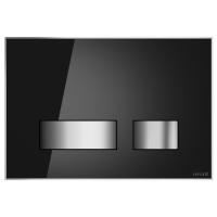 Кнопка смыва Cersanit MOVI P-BU-MOV/Blg/Gl черная