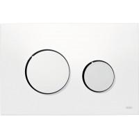 Кнопка смыва TECEloop 9240627 белая/хром