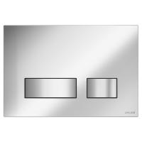 Кнопка смыва Cersanit MOVI P-BU-MOV/Cg хром