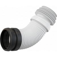 Гофра для унитаза Alcaplast M9006 230–450 мм, kомплектующие, для подключения унитаза к канализации